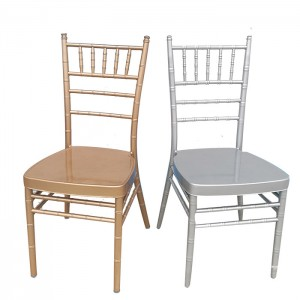 Resin Chiavari Chair, Iron in core