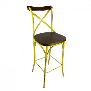 Metal Thonet chair/Cross back chair